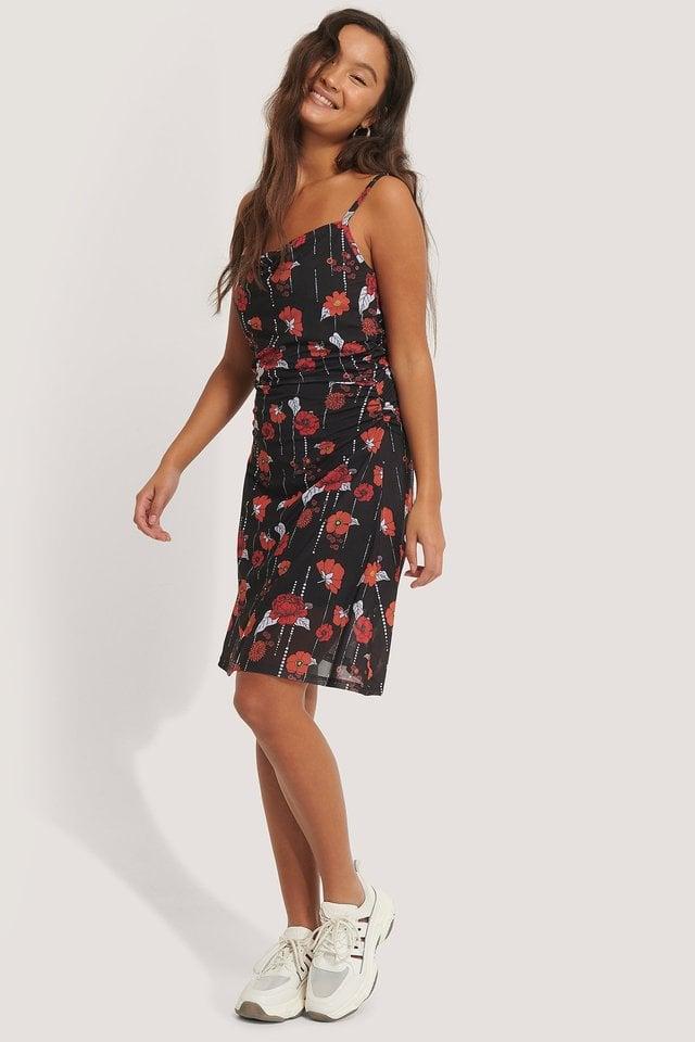 Flowy Mini Dress Outfit.