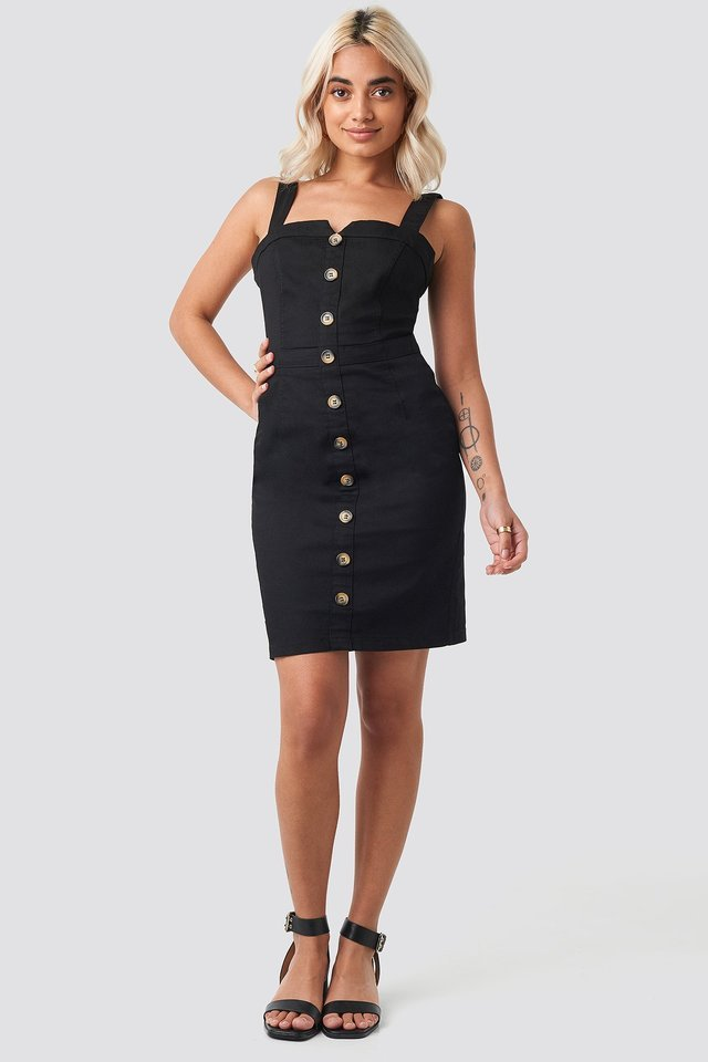 Gabardian Mini Dress Outfit.
