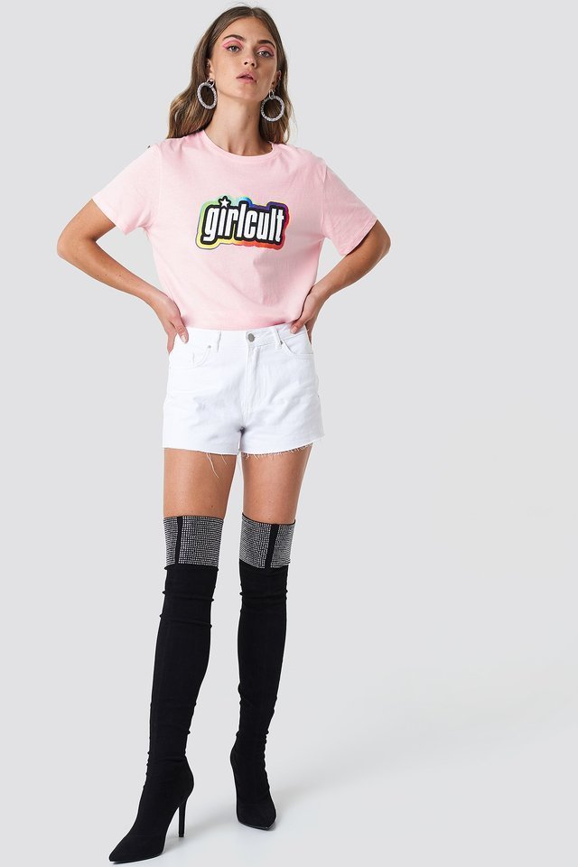 Girl Cult Tee Outfit.