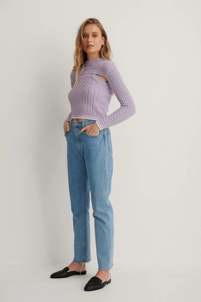 Double Knit Top Outfit.