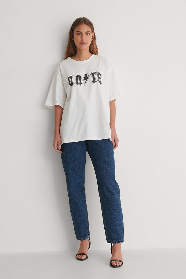 Unite Printed Tee Outfit.