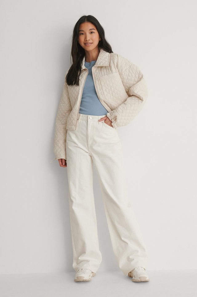 Padding Quilted Jacket Outfit