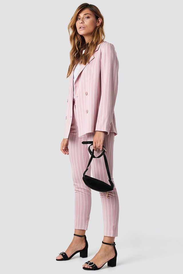 Suit Up High Heels Outfit