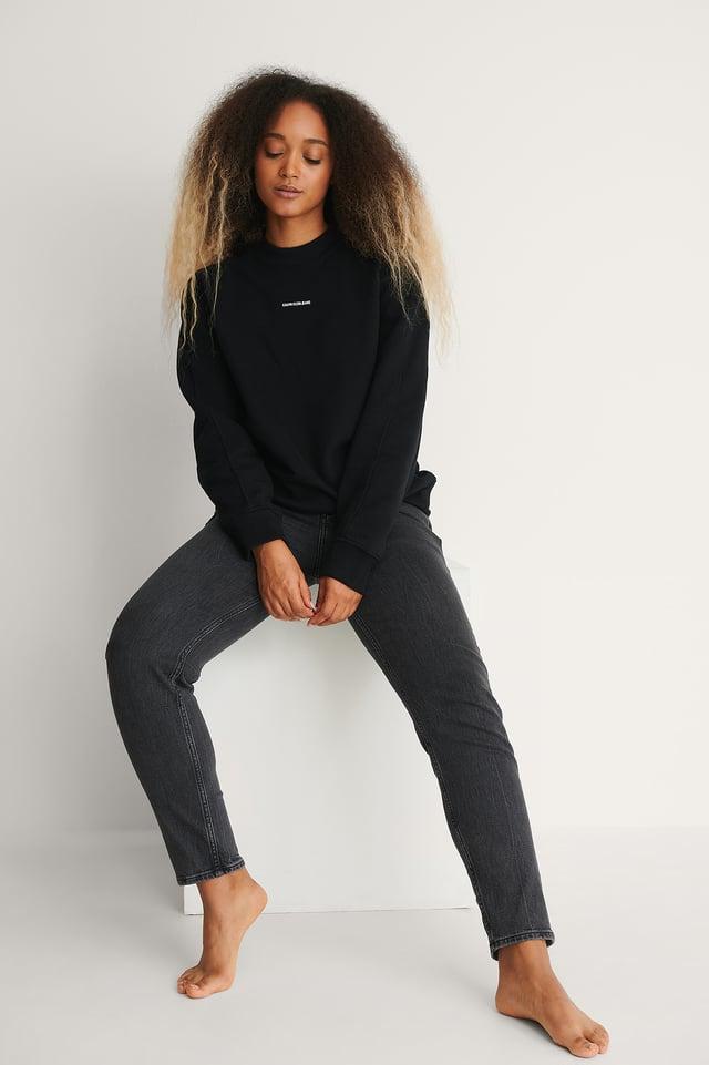 CK Black Oversize-Sweater