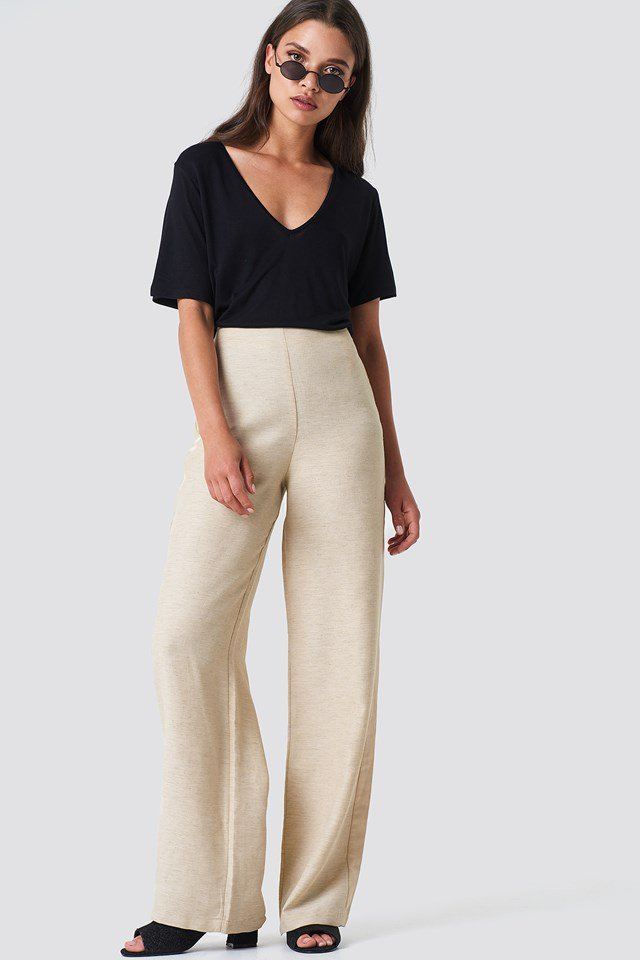 Side Panel Loose Pants