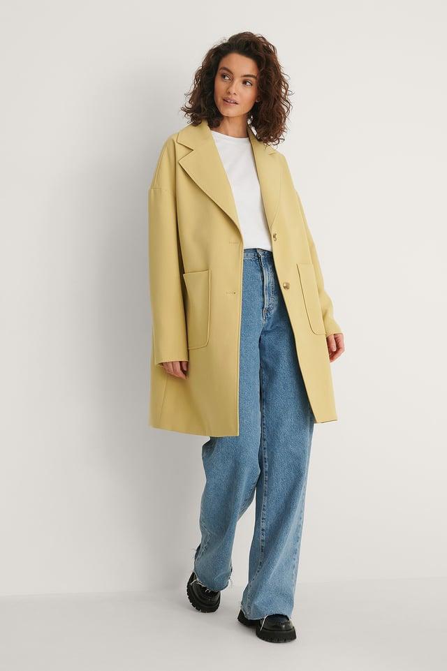 Big Pocket Blazer Coat