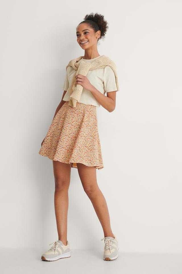 Flowy Circle Skirt