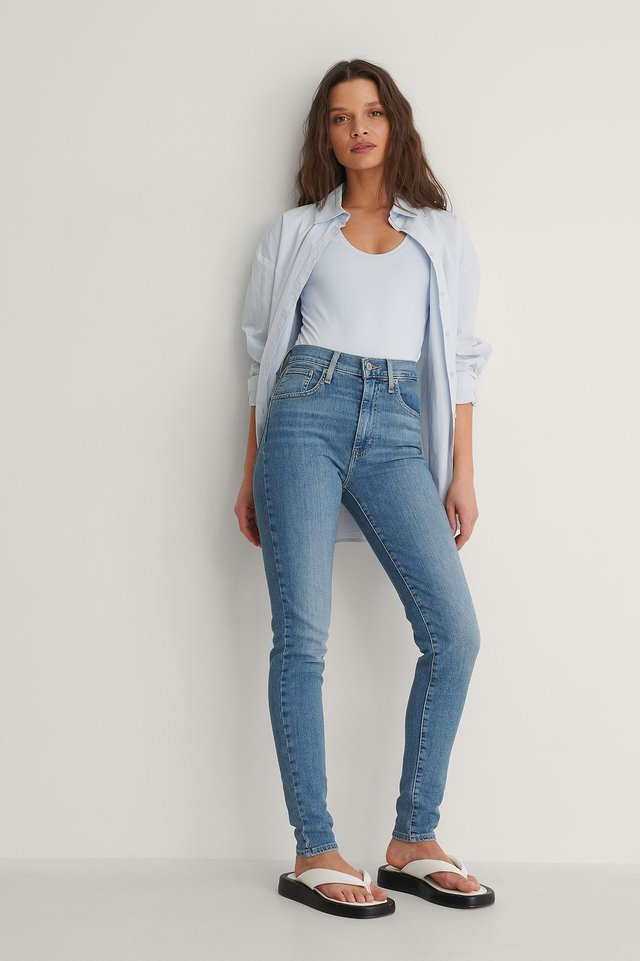 LEVIS Mile High Super Skinny Between