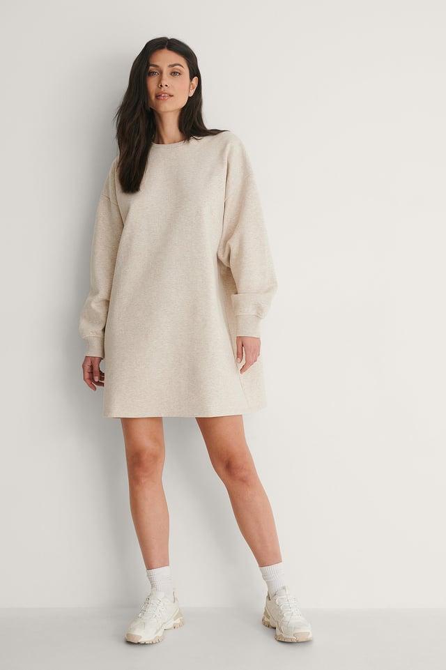 Organic Oversized Sweatshirt Dress