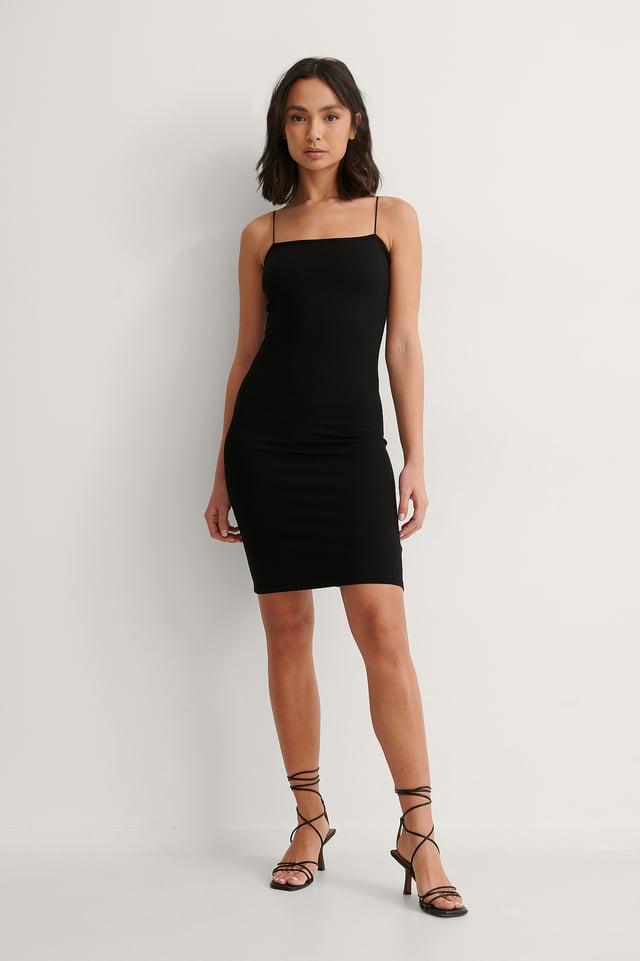 Spaghetti Strap Dress Outfit
