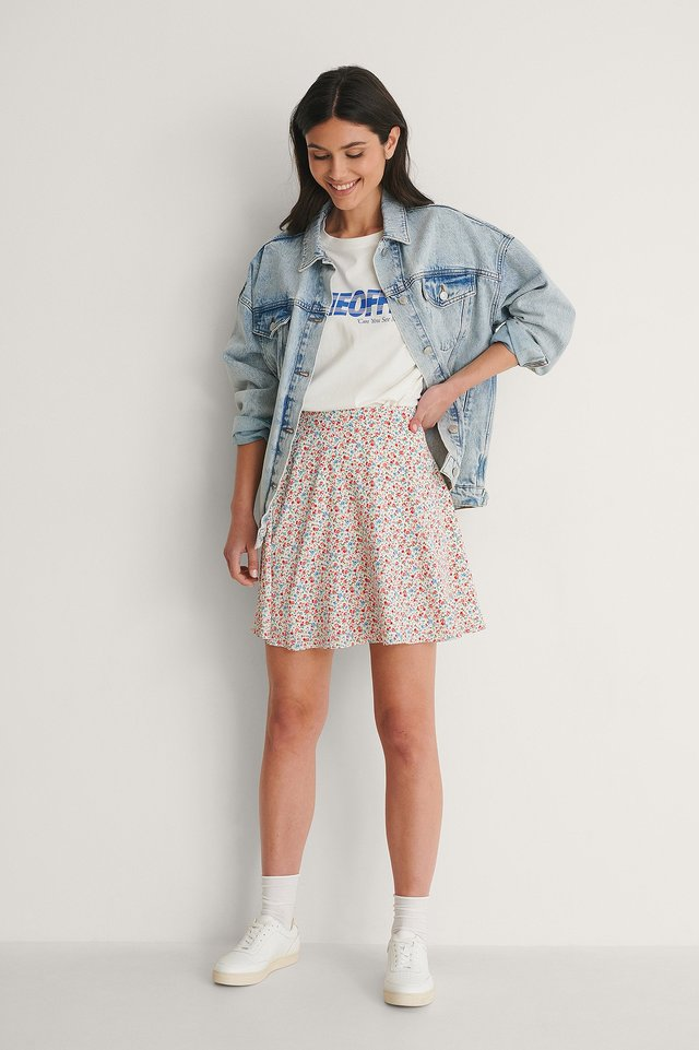 Flowy Circle Skirt Outfit