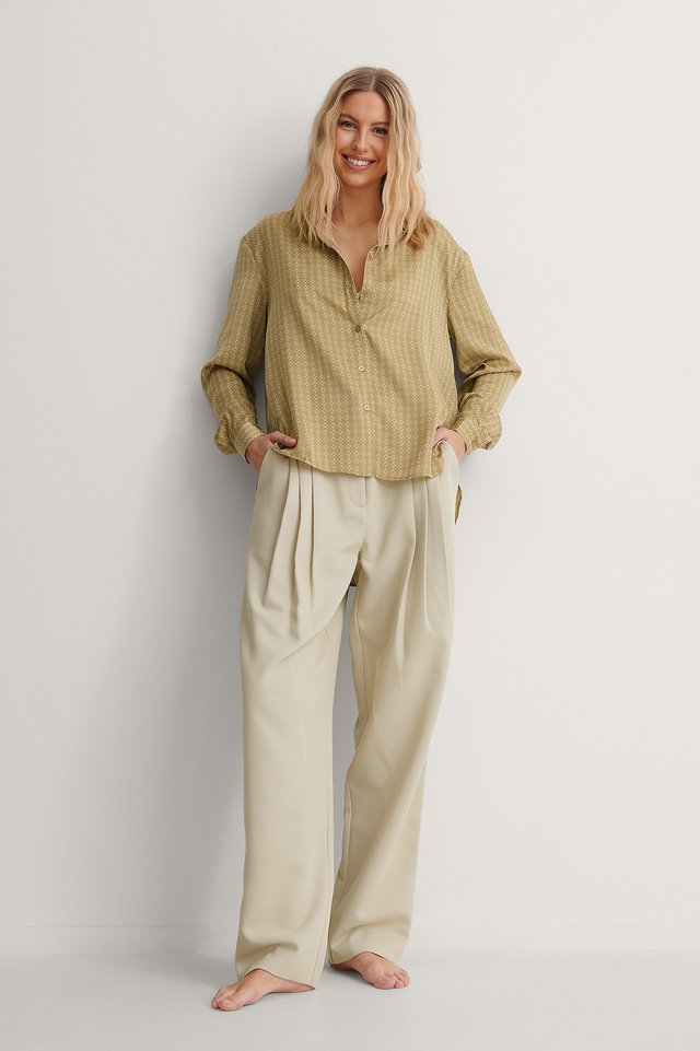 Loose Fit Shirt Outfit!