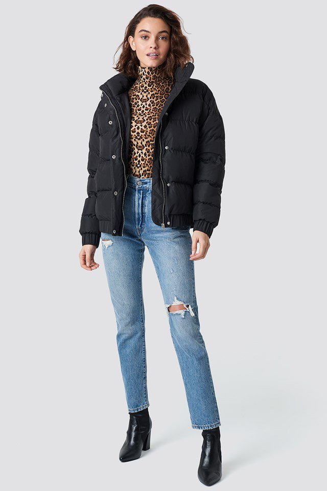Short Padded Jacket Outfit