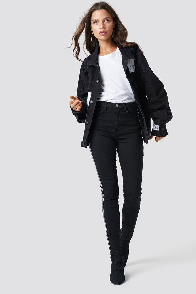 Urban Jean Jacket Outfit