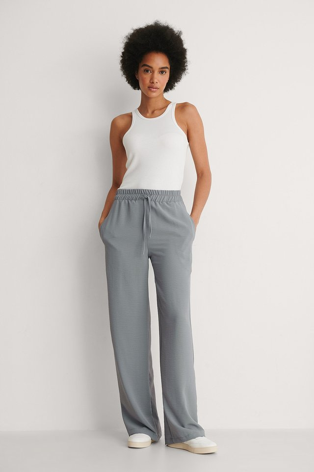 Trendyol Wide Leg Trousers Outfit