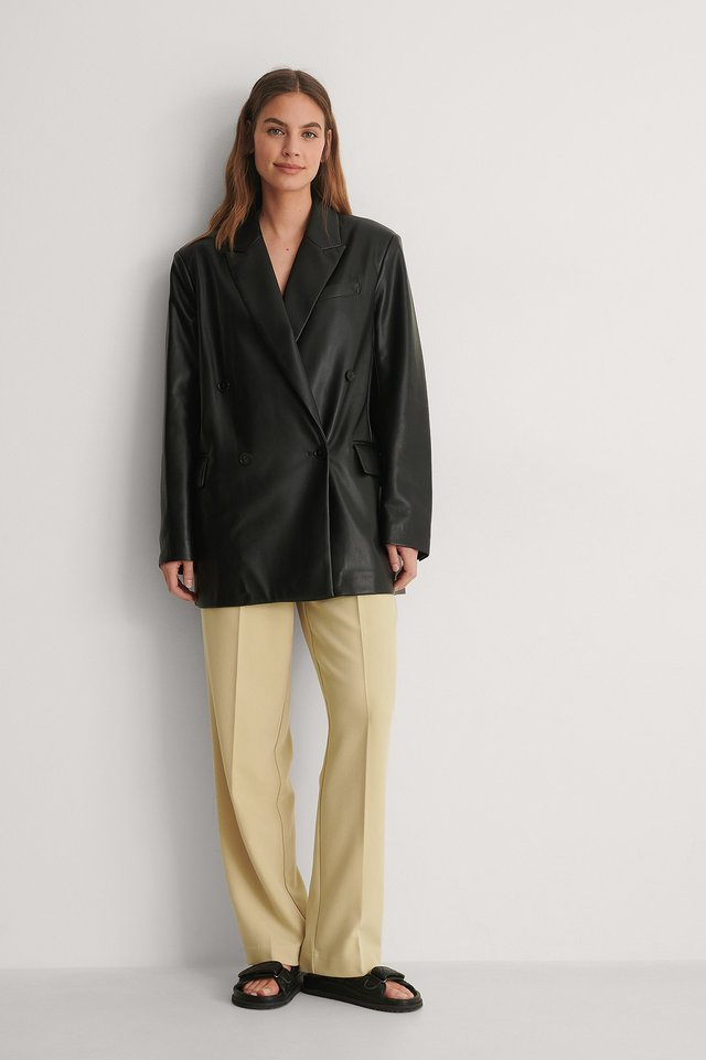Mango Combi Blazer Jacket Outfit