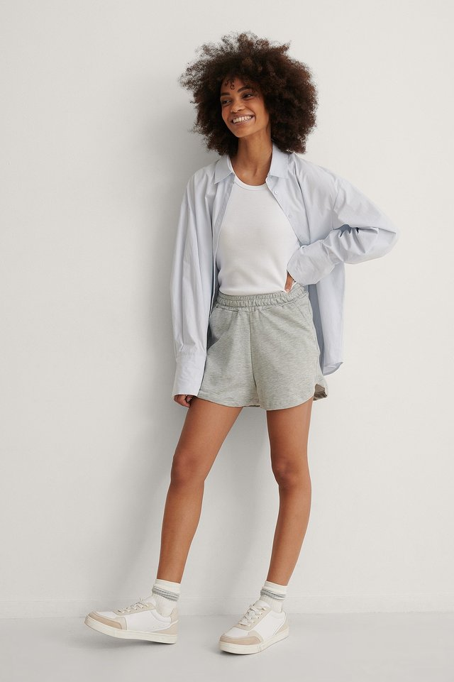 Trendyol Soft Shorts Outfit