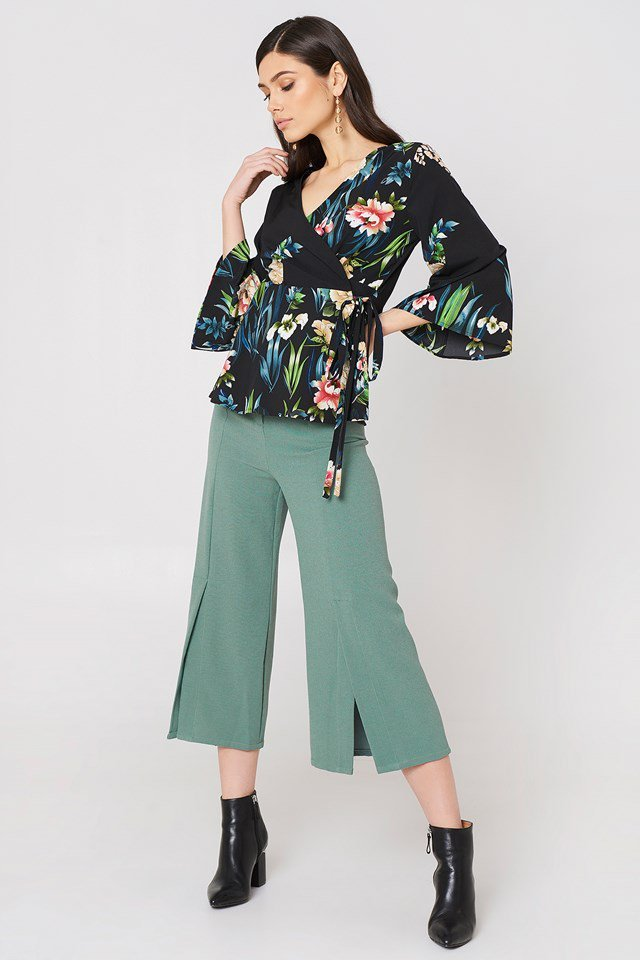 Ofelia Pant With Slit