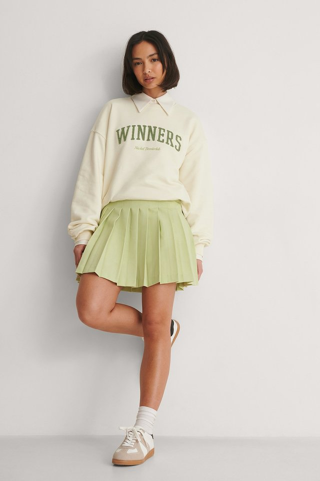 NA-KD Tennis Skirt Outfit