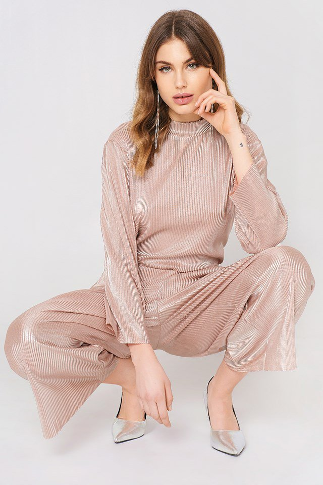 Stella Pleat Pant and Top
