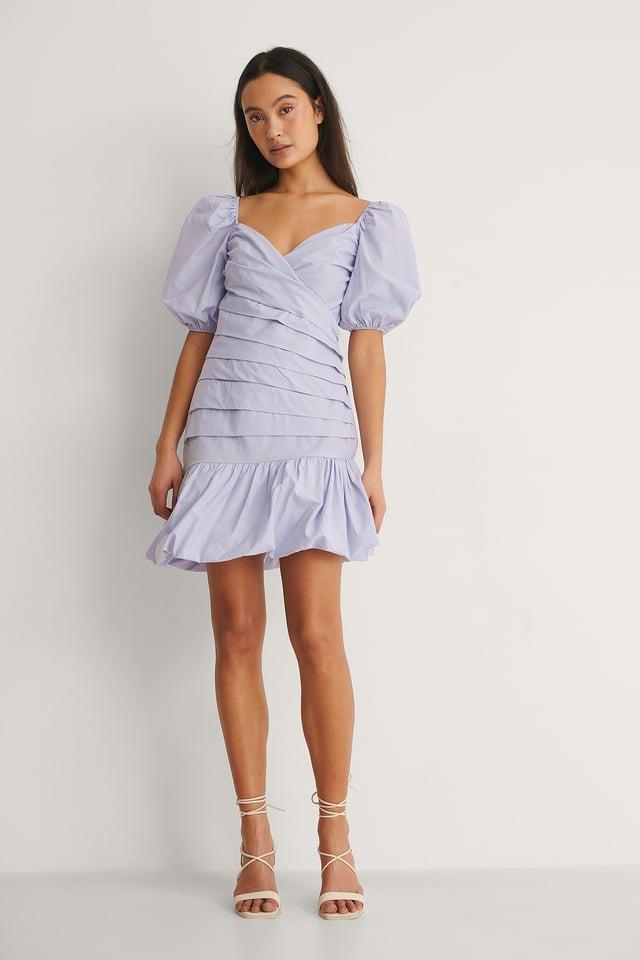 Asymmetric Mini Dress Outfit