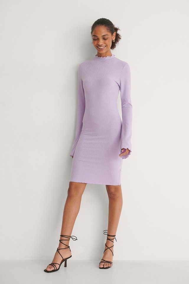 High Neck Babylock Dress Outfit.