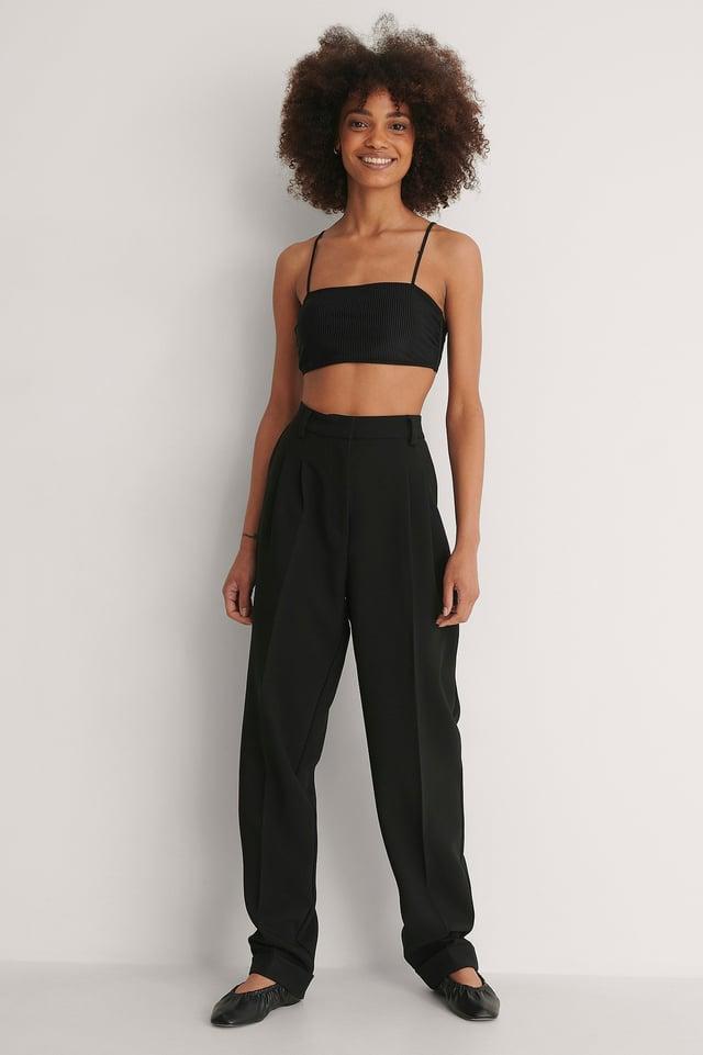 Thin Strap Bikini Top Outfit
