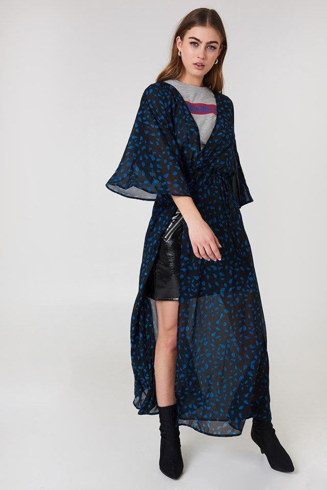 Chiffon Coat Dress