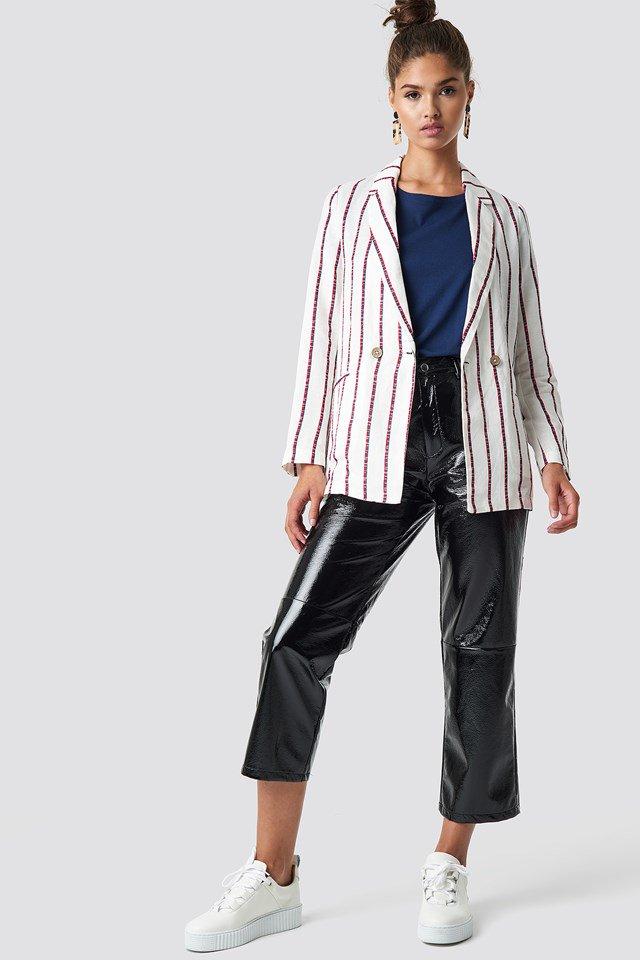 Detail Blazer Outfit