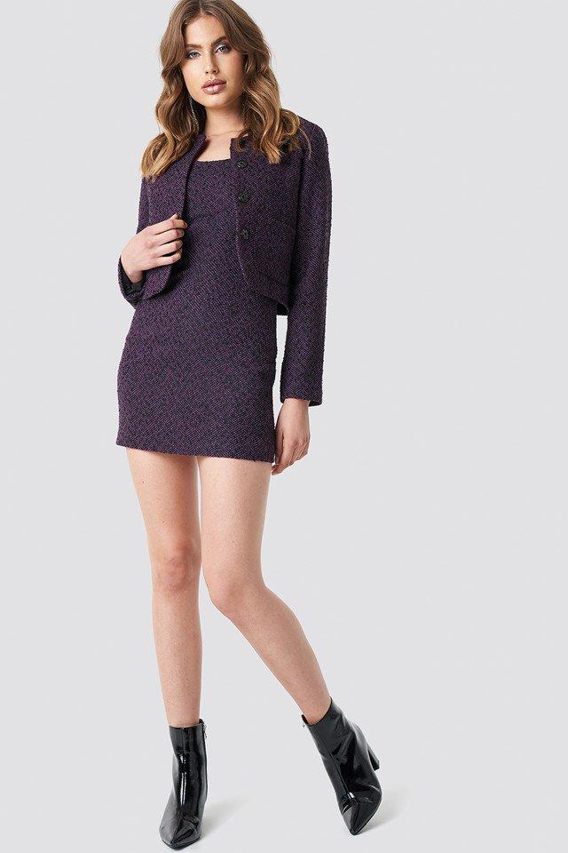 Matching Blazer Dress Outfit.