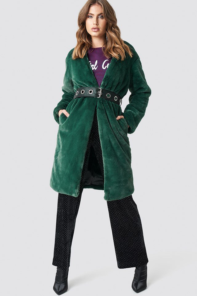 Statement Coat Outfit.