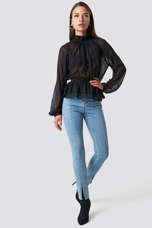 Frill Top Outfit