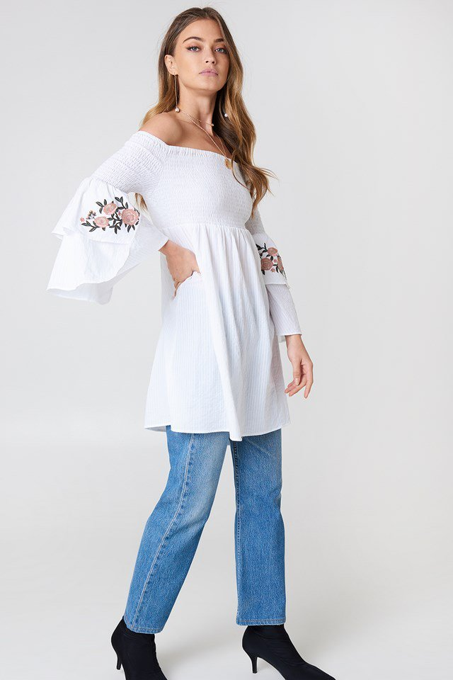 Embroidered Tunic Outfit
