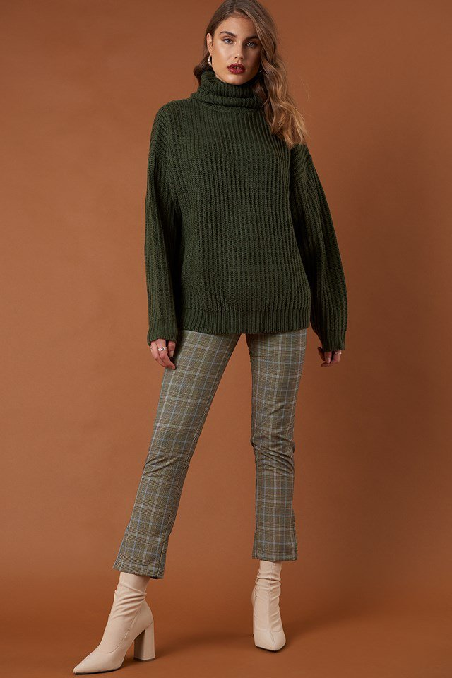 Big Chunky Knitted Sweater