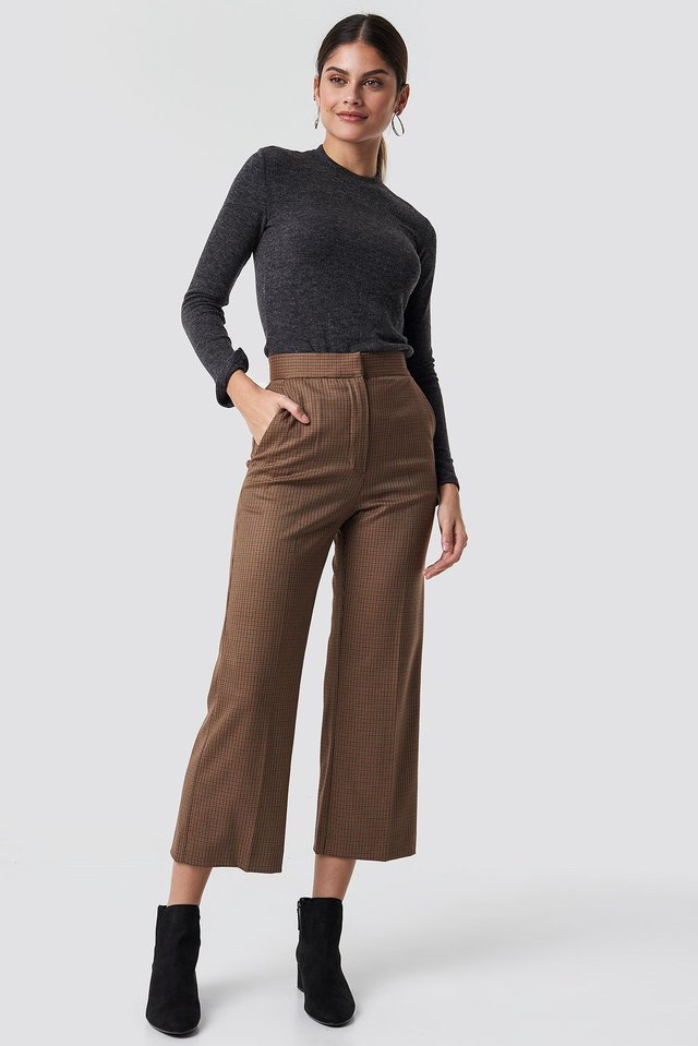 Eugenio Trousers Brown Outfit