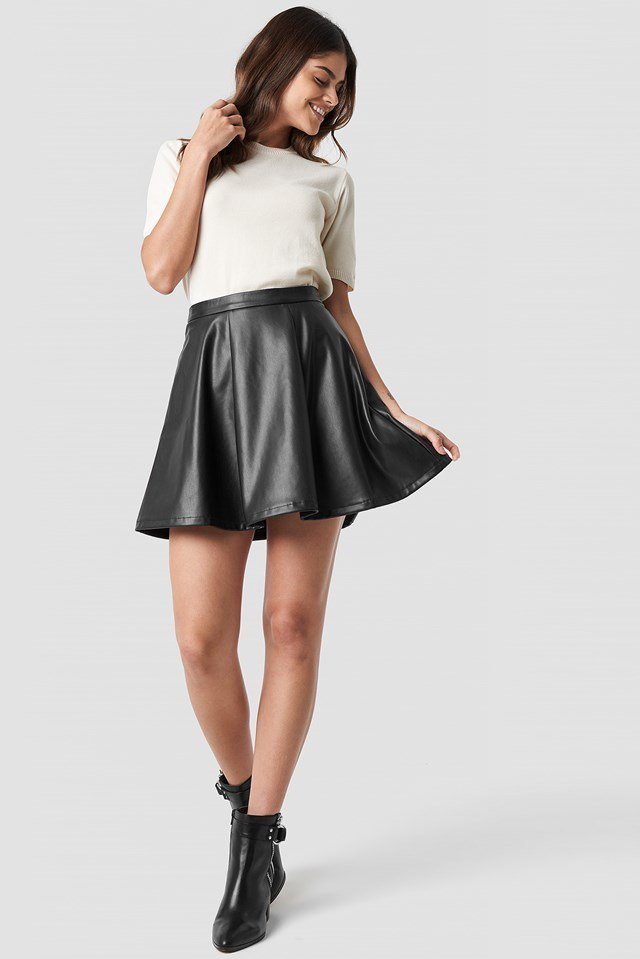 Circle skirt outfit