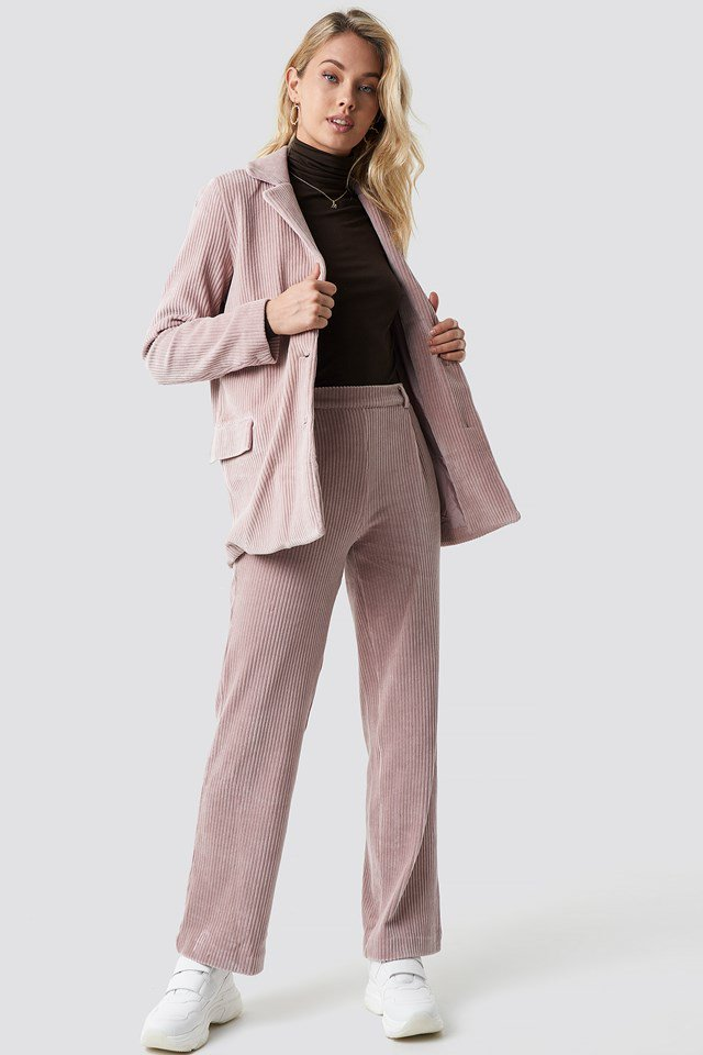 Silvia Blazer Pink Outfit