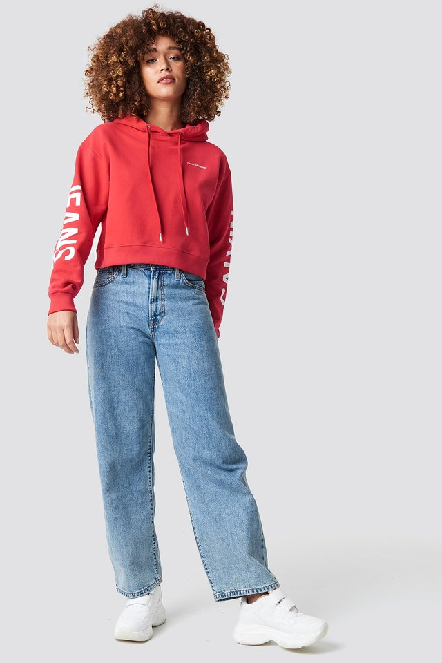Cropped Hoodie Outfit
