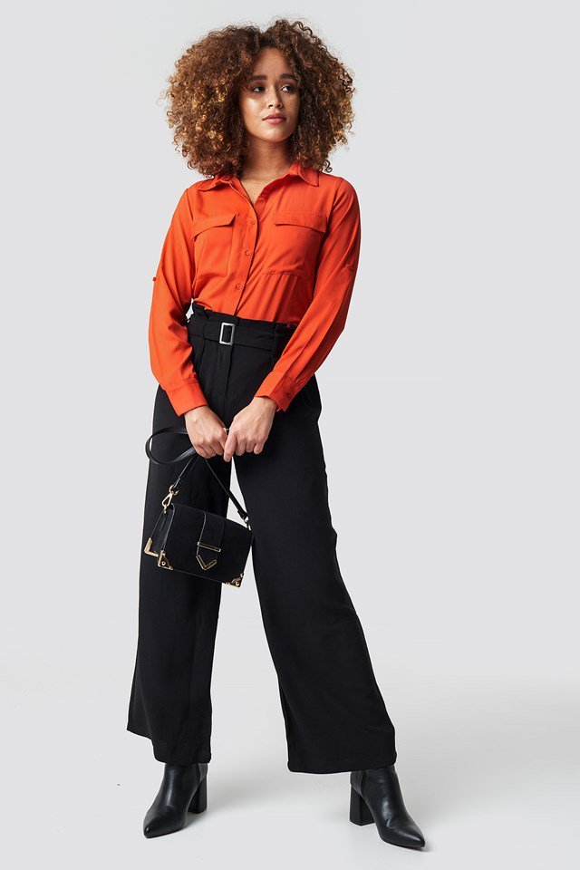 Orange Shirt Outfit