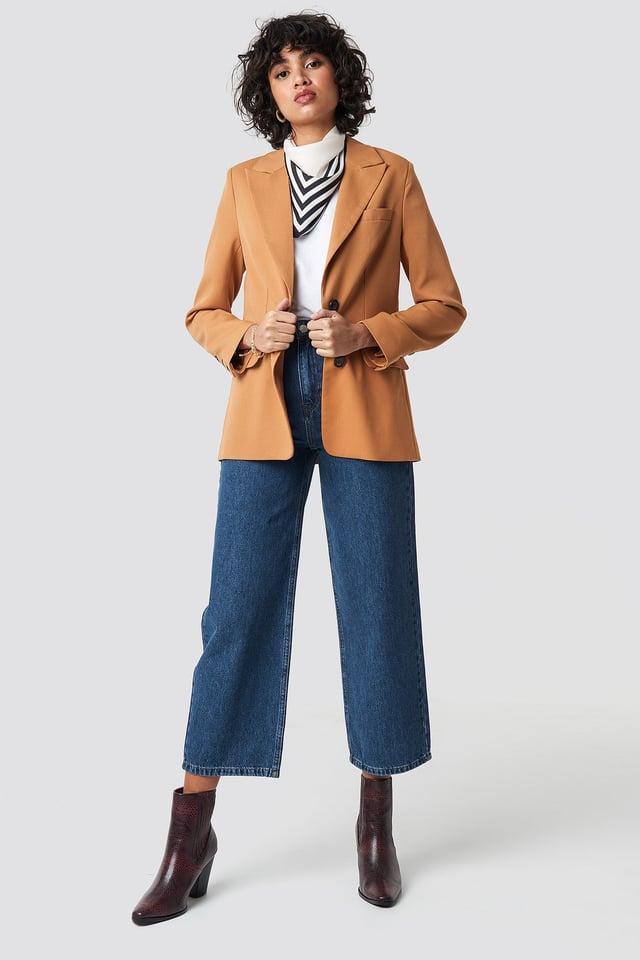 Blazer outfit.