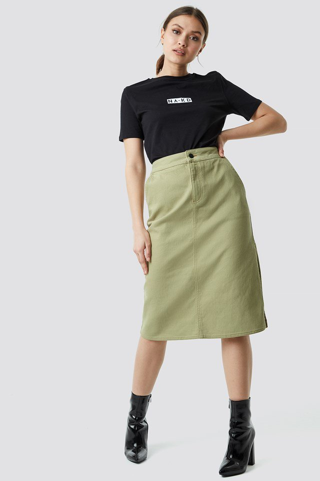 Cargo Skirt Outfit