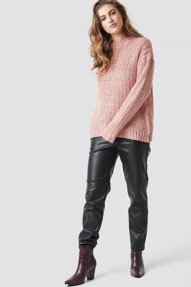 Sweater outfit.