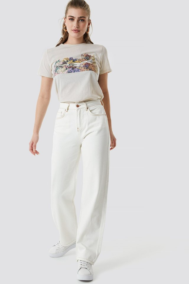 Flower Girl Tee Outfit