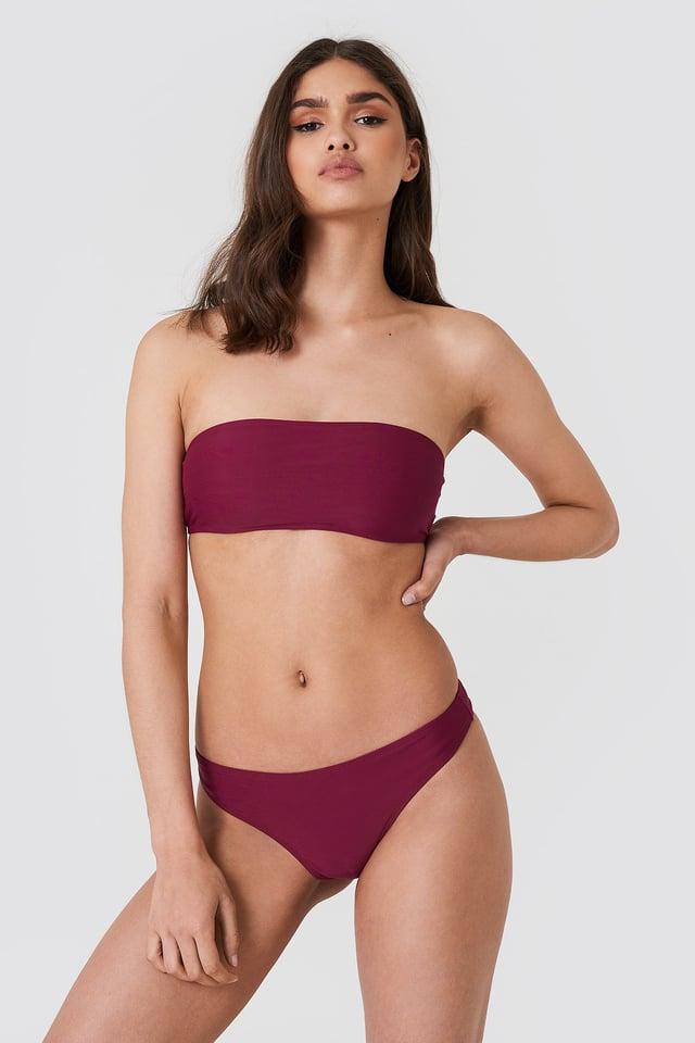 Bandeau Bikini Outfit