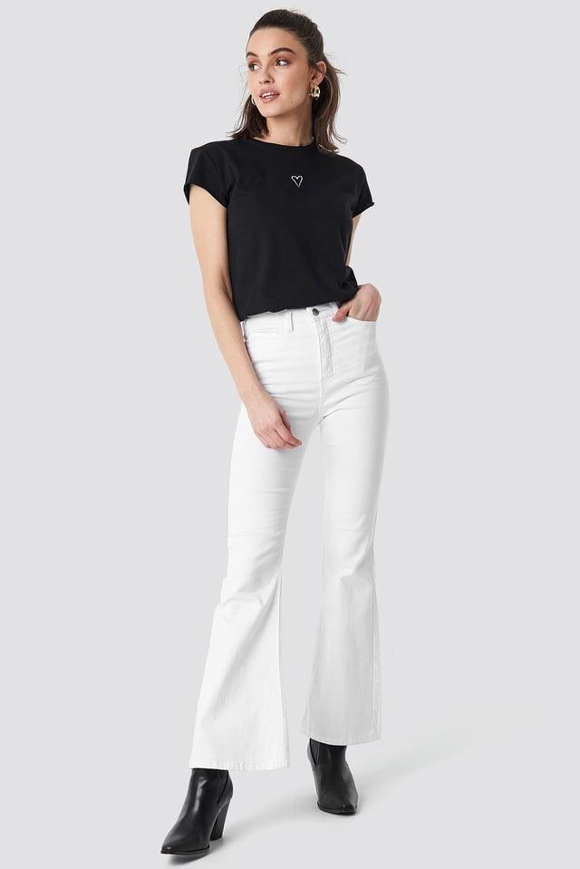 Black Basis Oversize T-Shirt