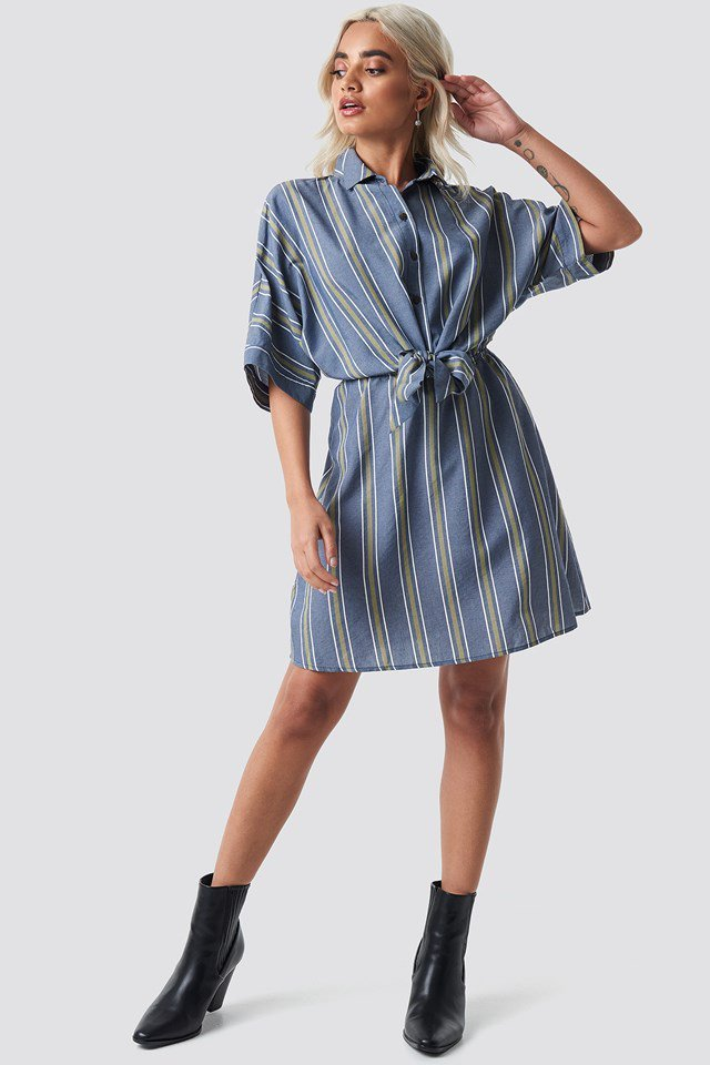 Rafiki Dress Blue Outfit