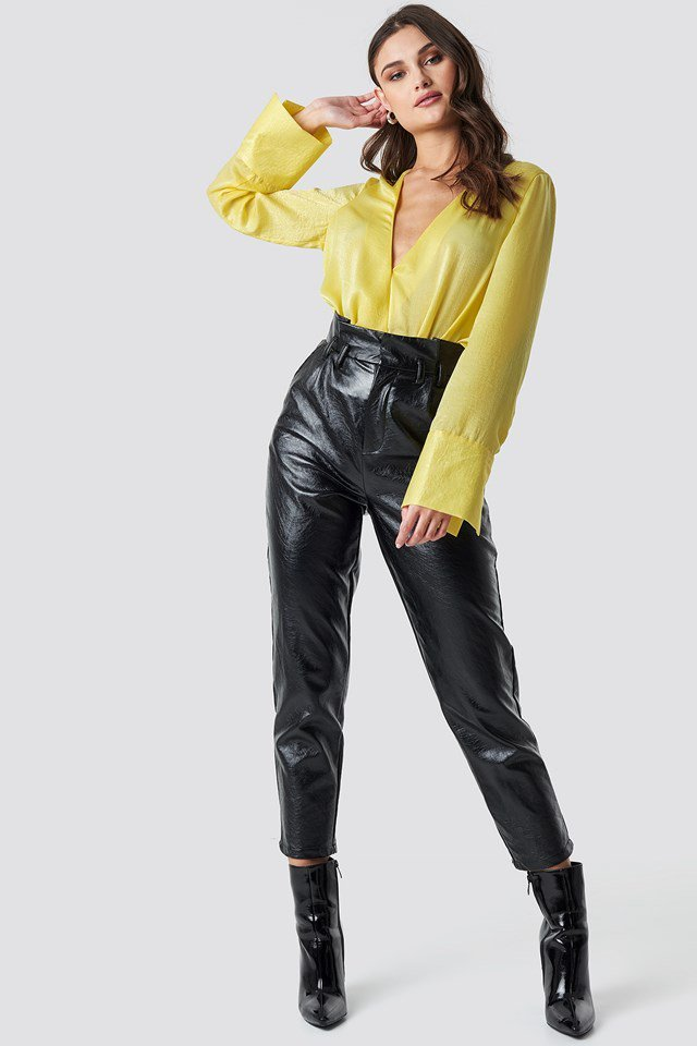 Yellow Blouse Outfit
