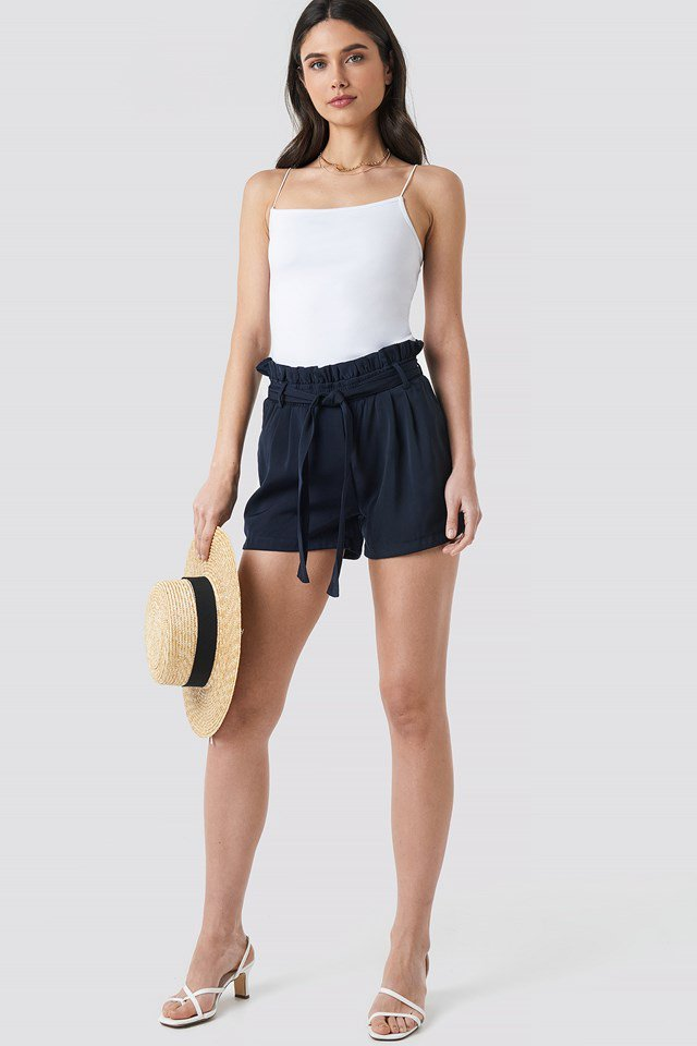 Dora Shorts Blue Outfit