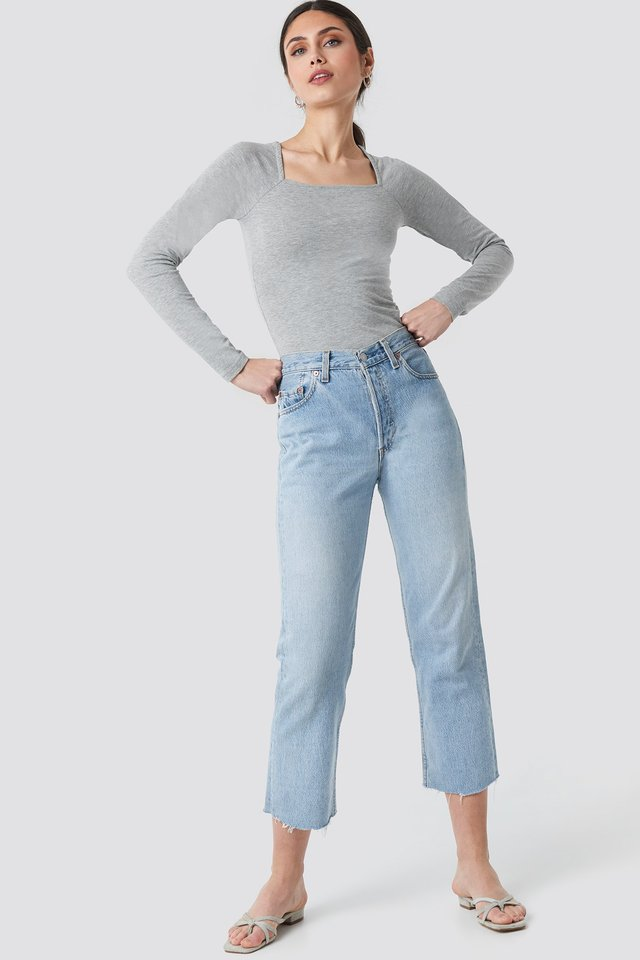 Square Shape Top Outfit