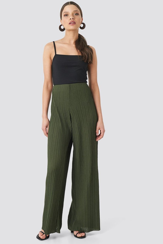 Louise Trousers Green Outfit